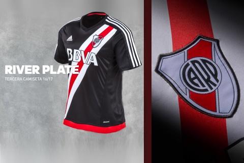 Camiseta Nueva River 16-17